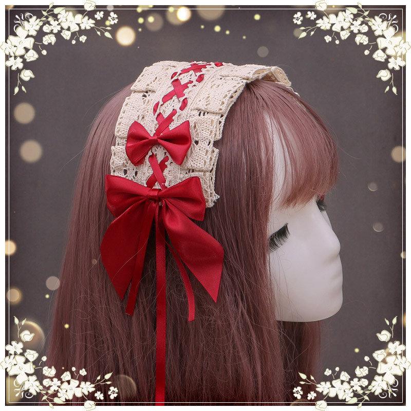 古典洛丽塔lolita发带lo娘头饰可搭人形师提线木偶爱多色头饰