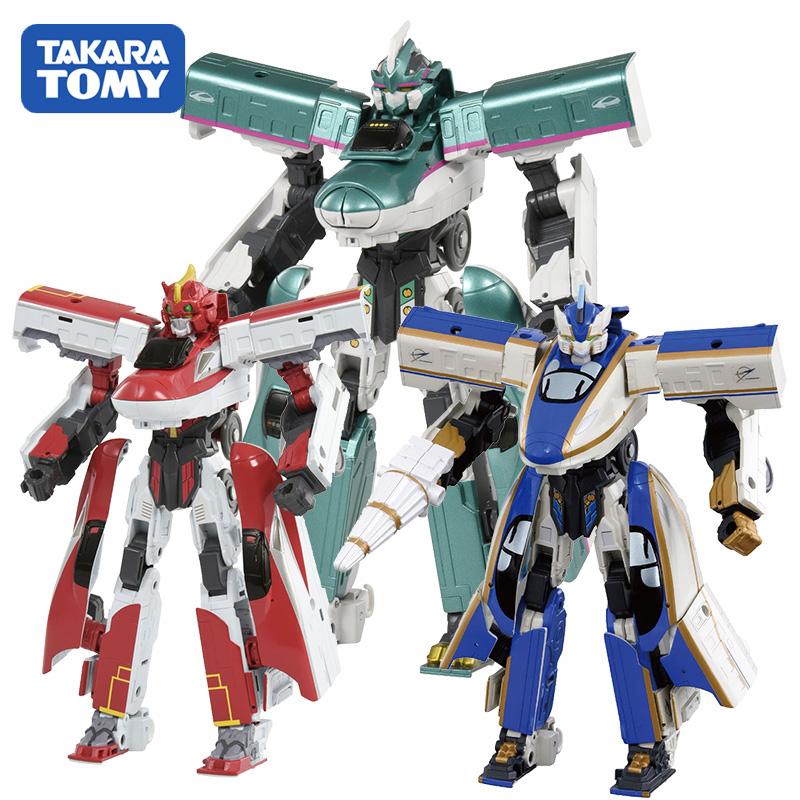 TOMY多美卡新干线变形机器人火车侠战士变形合体金刚模型男孩玩具
