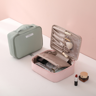 ins net red cosmetic bag portable super large capacity multifunctional simple small cosmetic skin care product storage box portable