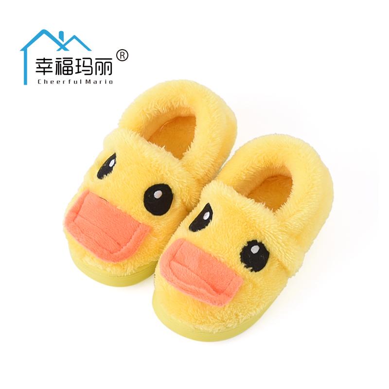 親子棉拖鞋一家三口男童女童冬鞋寶寶棉鞋1~3歲保暖 兒童棉鞋