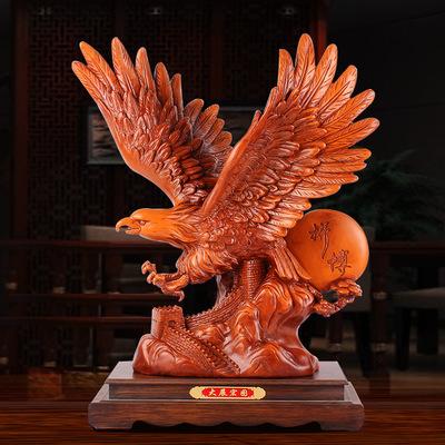 大展宏图老鹰公司开业礼品摆件办公室热销爆款推荐