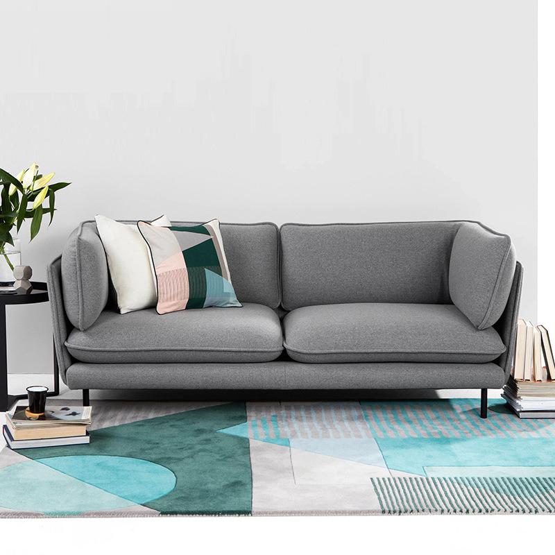 北欧布艺客厅整装后现代简约沙发10月20日最新优惠