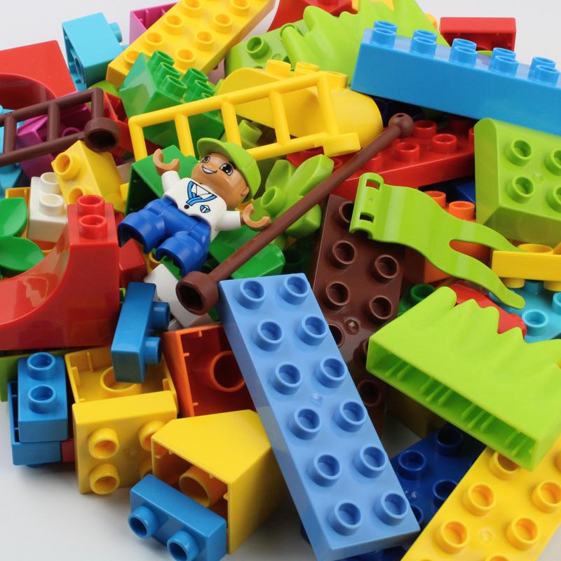 券后18.00元大颗粒塑料基础块散装称斤拼装玩具