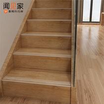 佛山楼梯踏步砖台阶砖别墅砖防滑耐磨地砖仿实木木纹瓷砖600x1200
