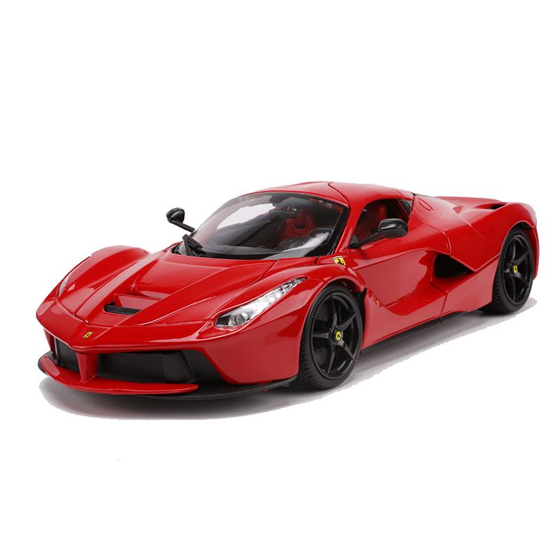 比美高1:18法拉利车模 Laferrari拉法合金跑车模型仿真玩具 礼品
