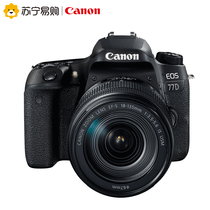 Canon Canon 77D (18-135mm) Set machine SLR camera HD Home Digital travel SLR set machine