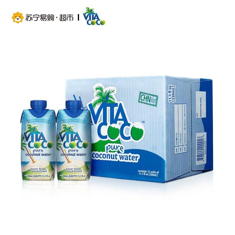 馬來西亞 VITA COCO 唯他可可天然椰子水330ml^~12