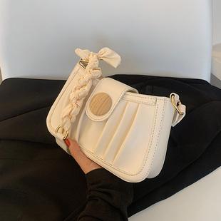 腋下包包2021新款时尚女包小众设计斜挎包女百搭高级感洋气单肩包