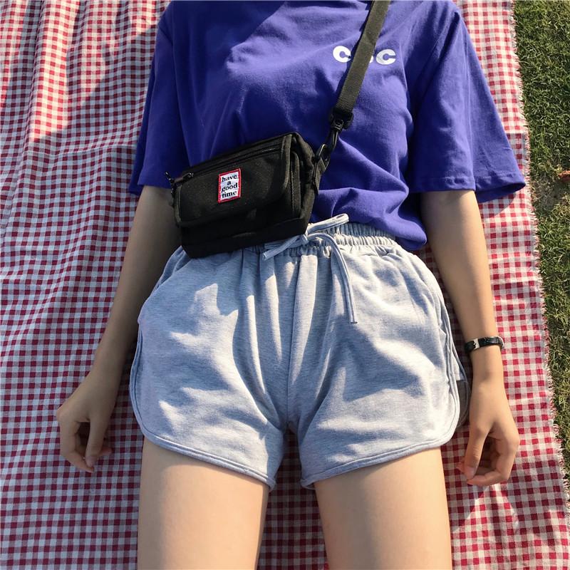 实拍实价港风设计 日常舒适短裤宽松休闲热裤