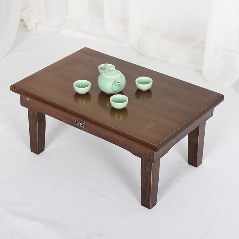 楠竹折叠桌实木榻榻米桌地桌矮桌子