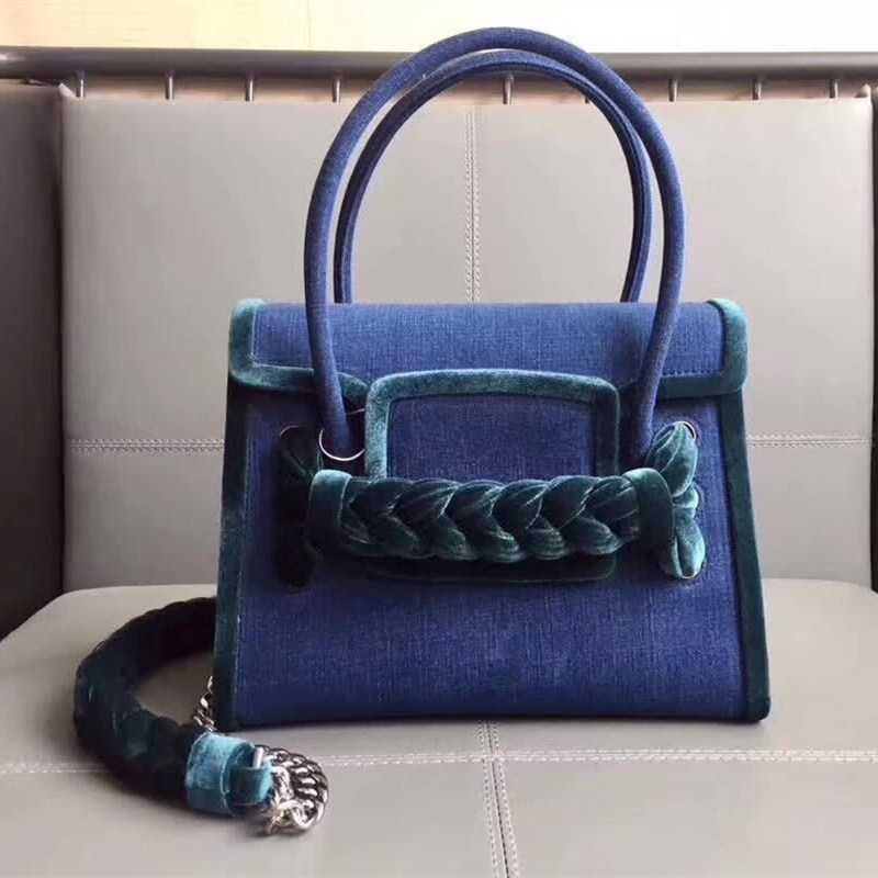 New style jeans handbag in spring and summer 2020 European and American fashion retro leisure Single Shoulder Messenger Handbag trend simple