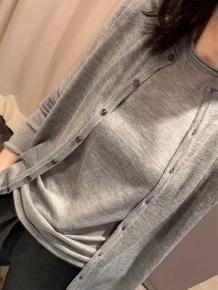 春季开衫外套女针织宽松短款外穿薄羊绒毛衣背心两件套装韩版外搭
