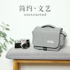 佳能相机包单反微单便携可爱单肩男女摄影背包M6M100M5080D200D