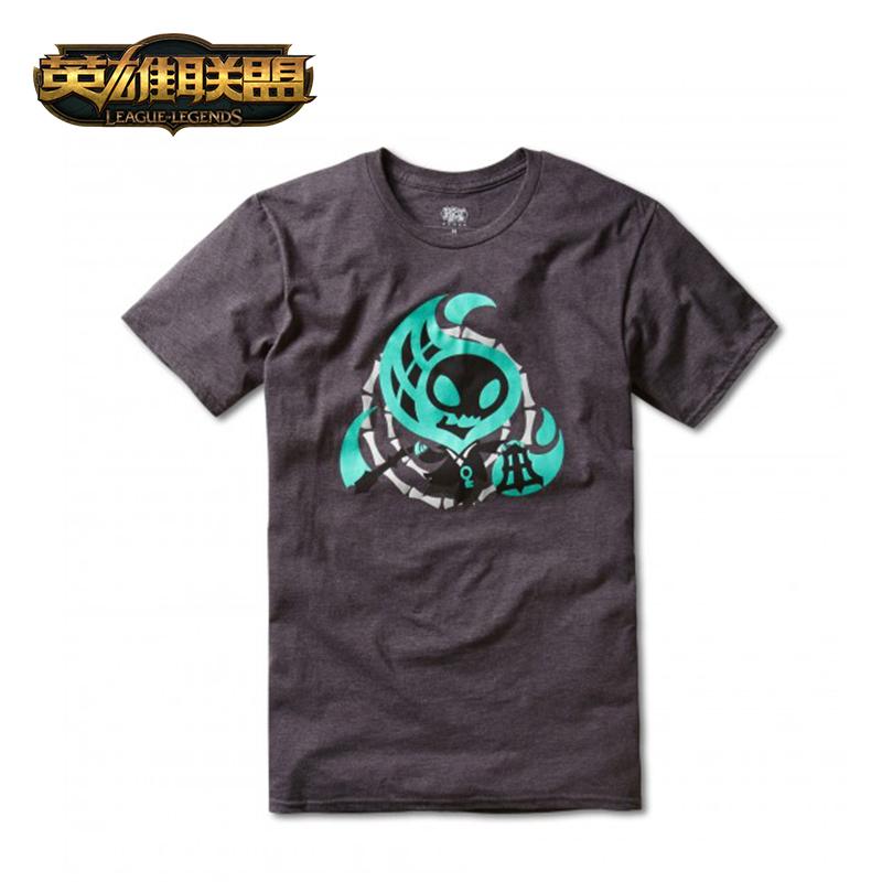 英雄联盟 LOL 精选锤石T恤短袖中性款 官方正品
