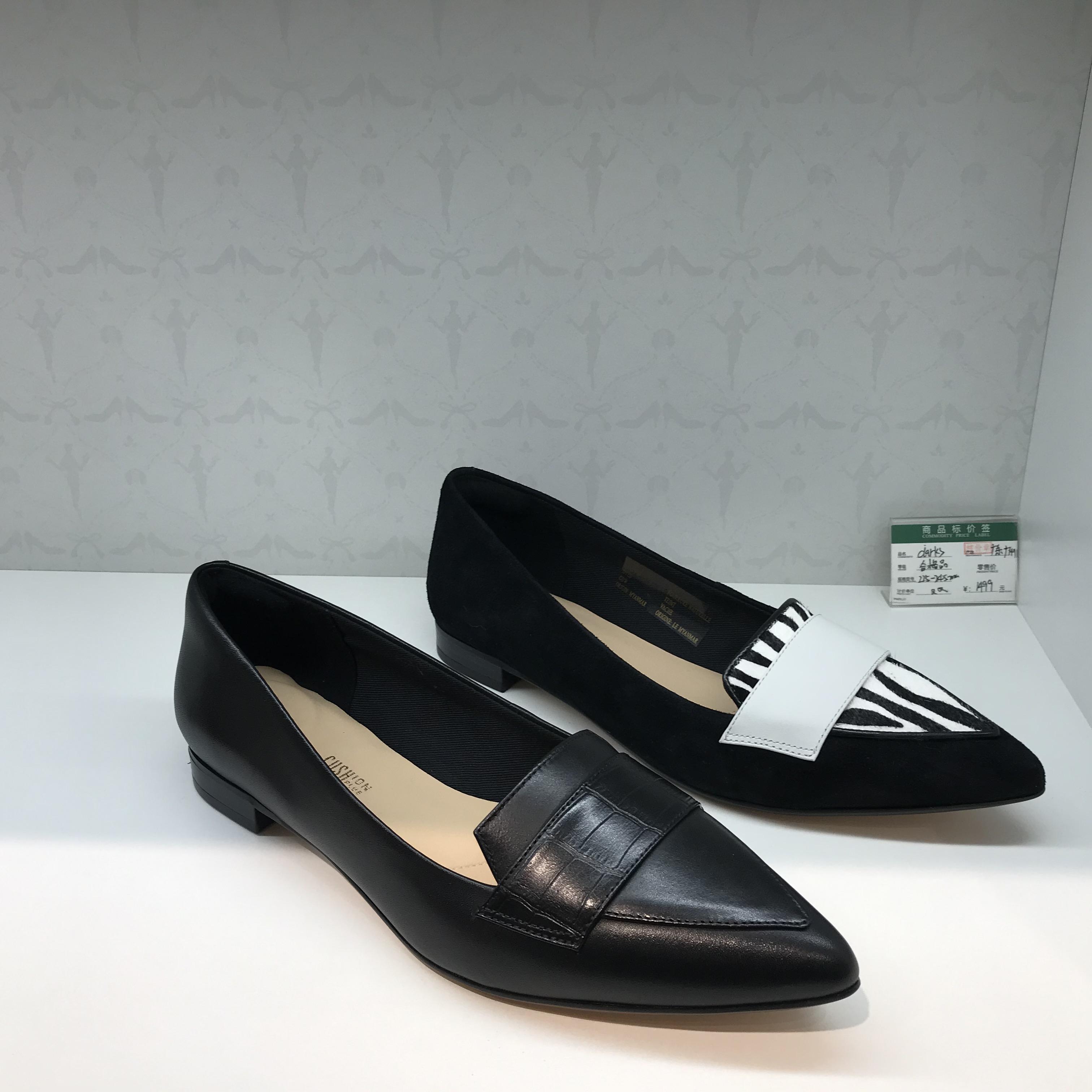 2020年春季新款其乐代购女鞋复古拼接单鞋乐福鞋Laina15 Loafer