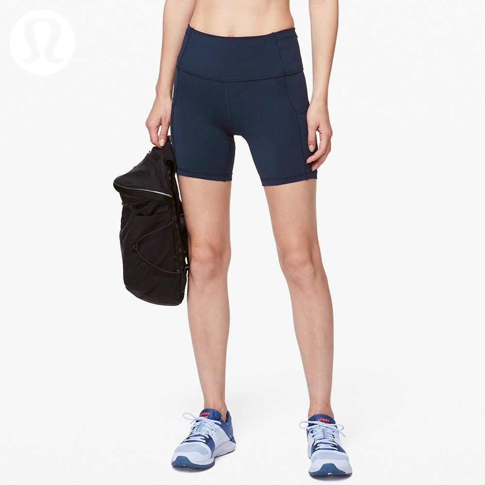 "Ms. LululemonFast and Free Sports High-waist Shorts 6"" LW7AU6S"