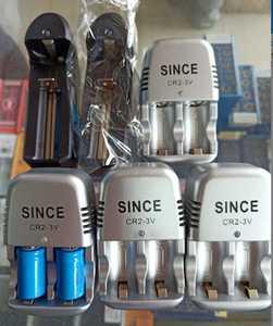 数控刀具雷尼绍探头测头电池充电器两节装SINCE -CR2-3V