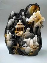 奇石天然原石珠宝玉石寿山石玉雕仿南阳独山玉石头玉器工艺品摆件