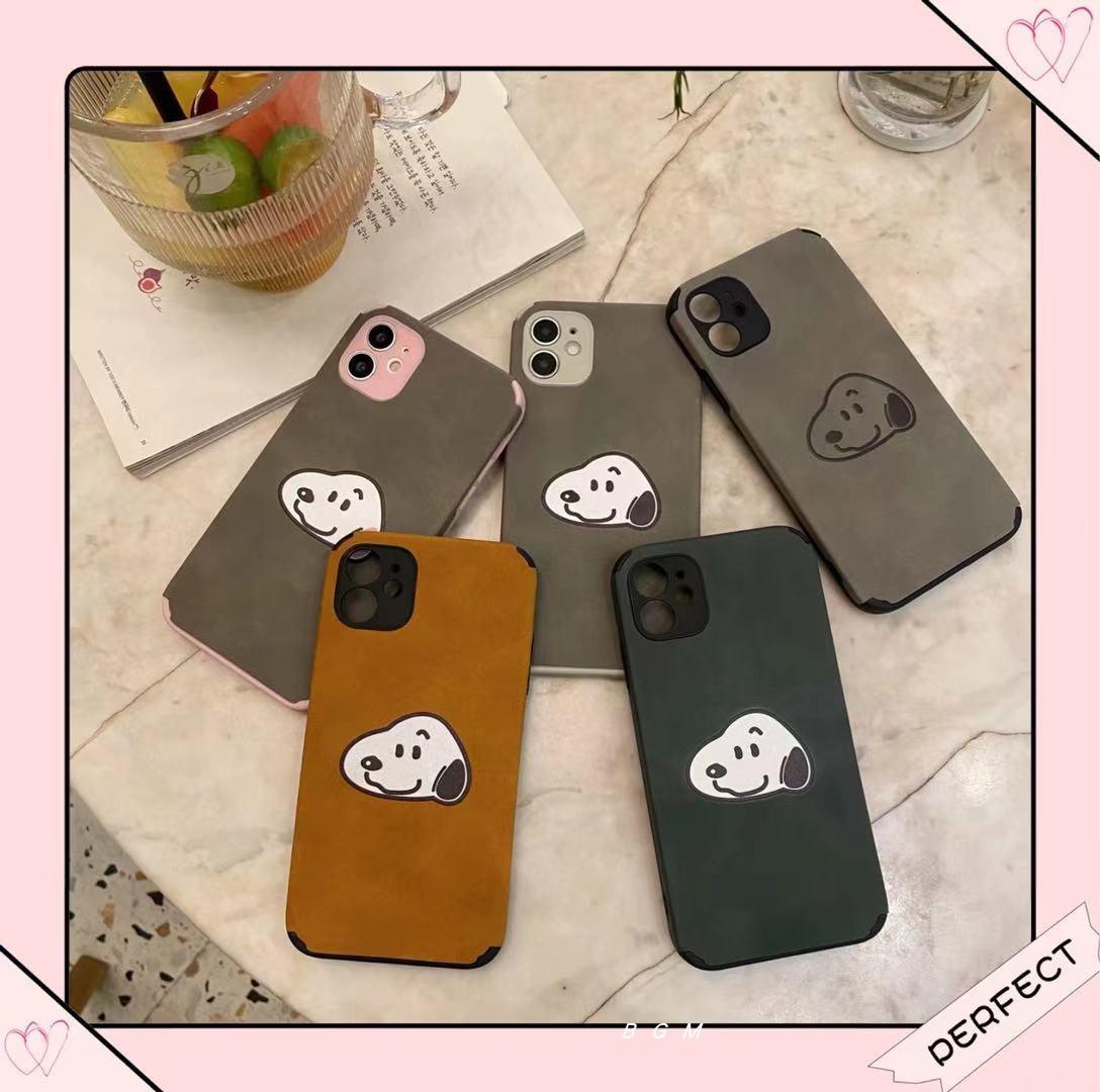 中國代購|中國批發-ibuy99|手机套|新款卡通小羊皮苹果手机壳12简约细绒11Pro硅胶全包防摔保护套