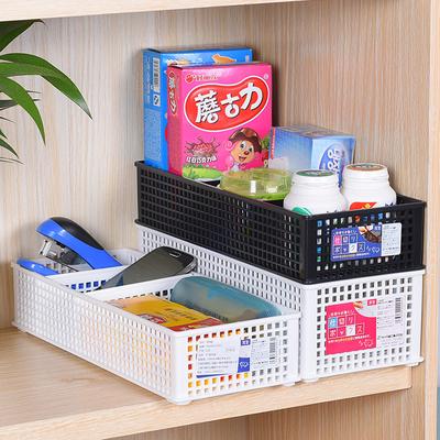 Japan imported sanada desktop storage box free compartment drawer storage box sundries storage basket sorting basket