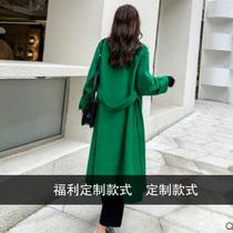 2020新款双面羊绒大衣女小个子孤品大衣韩版时尚毛呢外套反季清仓