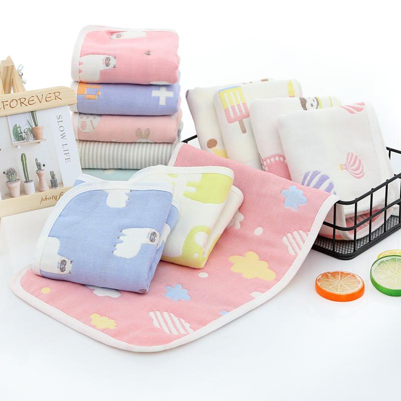 六层纯棉纱布童被儿童洗脸毛巾浴巾吸水新出生宝宝盖毯婴幼儿用品