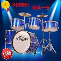 Комплект для барабанов для взрослых детские Джазовые барабаны Пять барабанов Три 镲 Четыре 镲 Стартер 入 家 入 入 дверь практика