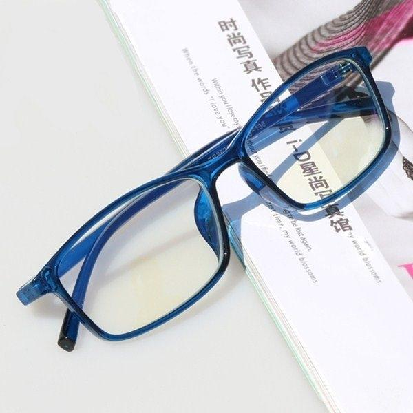 Anti radiation glasses female mobile phone computer goggles anti blue glasses male non degree frame flat lens with myopia