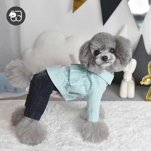 一阅心田网红狗狗衣服夏季定制衬衫