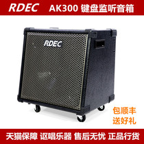 RDEC Speaker AK300 Professional electronic keyboard speaker wireless Bluetooth speaker stereo Drum speaker