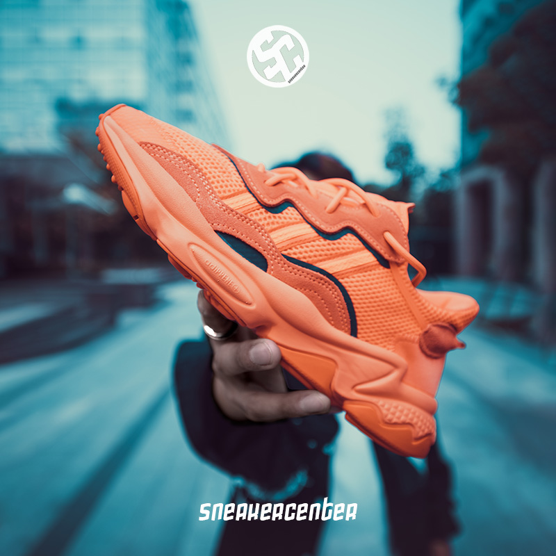 Adidas/阿迪达斯三叶草Ozweego易烊千玺同款老爹鞋男女跑鞋EE6465