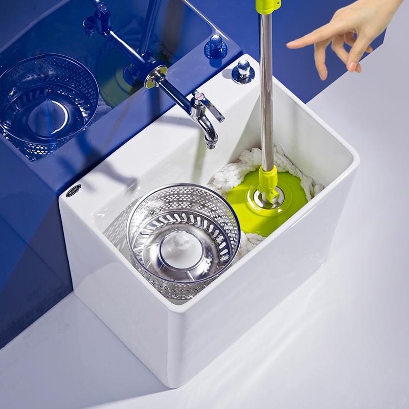 Dream двойной привод шваброй бассейн балкон керамический плавательный бассейн вращающийся туалет домашний пол ведро ковш мойка