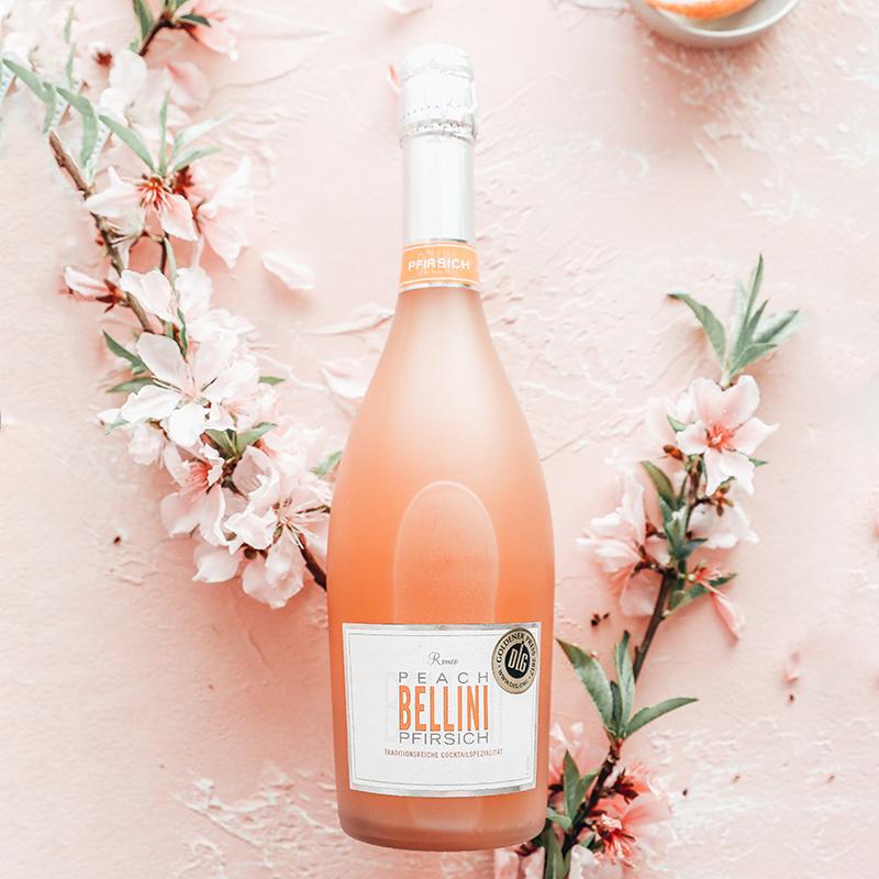 德国DLG金奖 桃子酒丨ROMEO BELLINI 罗密欧贝利尼桃子果味鸡尾酒