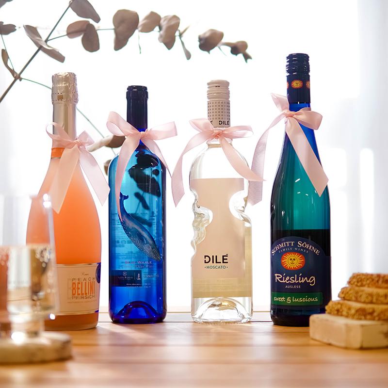 お得!2本の丨天使の手を组み合わせたベルリニの桃の果酒モスコット司令官の発泡酒