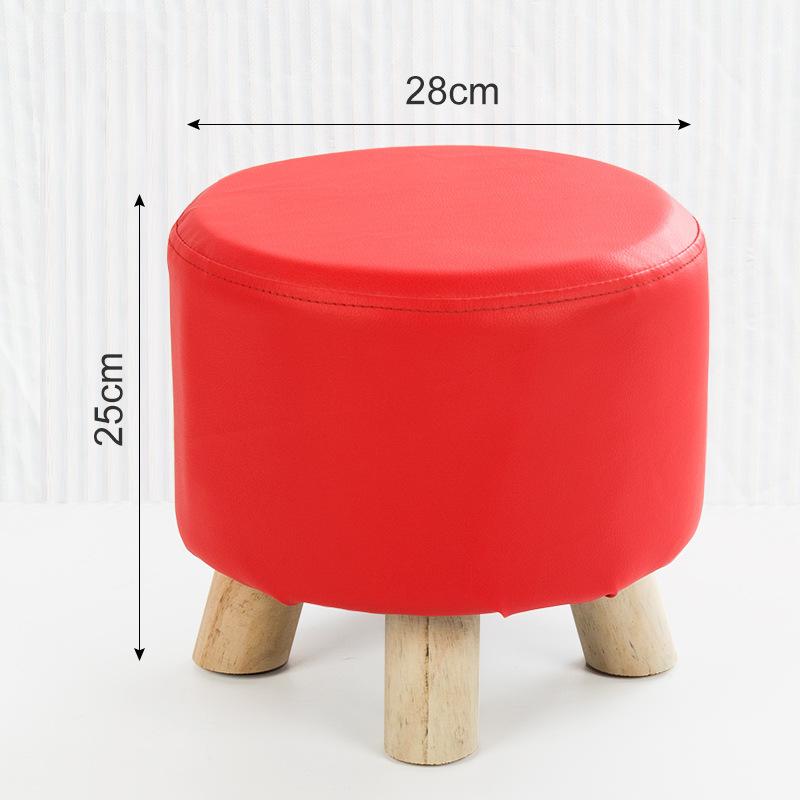 实木小凳子 家居商家赠品凳子小圆凳皮凳子淘宝家具店赠品矮凳子