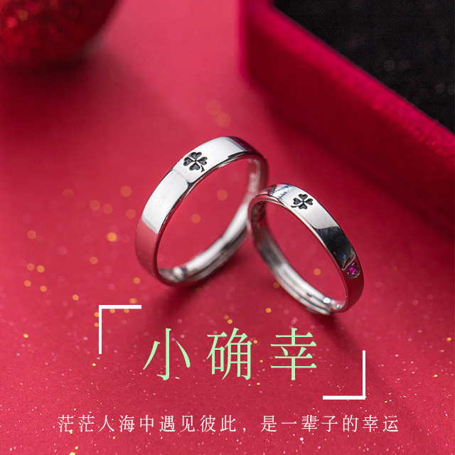 925 Sterling Silver Ring original design gift light luxury anniversary of creative ins birthday surprise