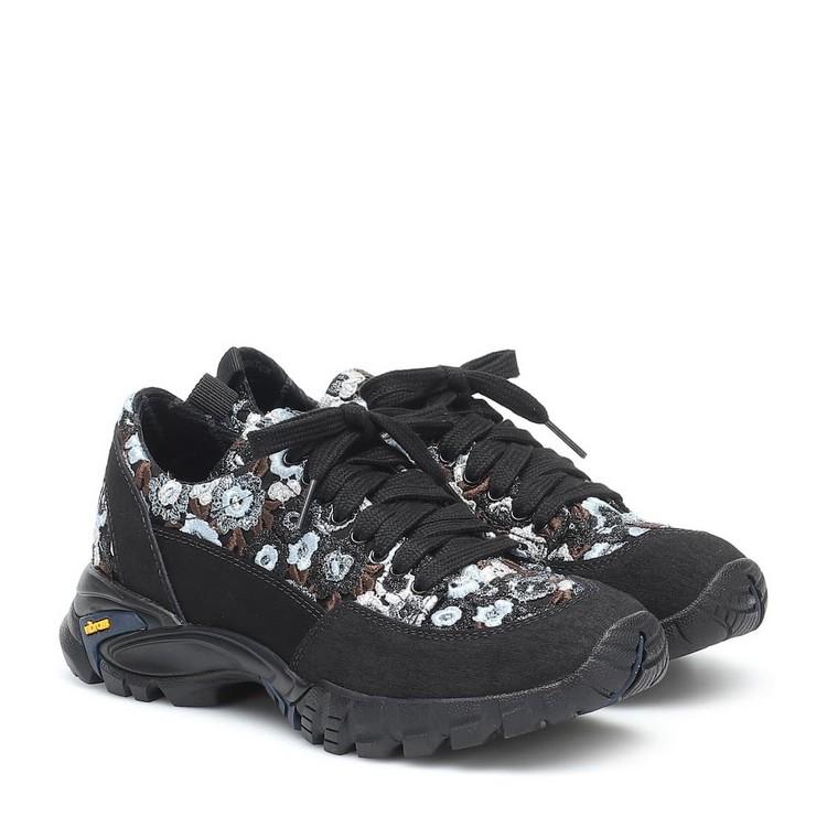 Cecilie Bahnsen/女士皮革蕾丝运动鞋 201010my2318