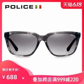 意大利POLICE眼镜板材时尚墨镜男潮个性大框设计太阳镜女SPL382K图片