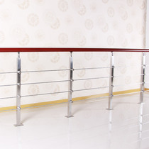 RXR indoor staircase railing steel wooden handrail stainless steel staircase handrail Railing column Staircase factory customization