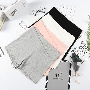 孕妇安全裤防走光夏季薄款低腰孕妇短裤打底裤保险裤子孕妇夏装