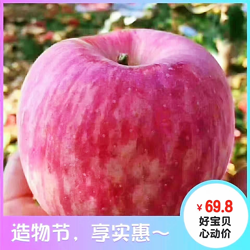 Authentic Shaanxi Yanan Luochuan Apple whole box of 30 Red Fuji Apple 10 jin pregnant women eat fresh fruit