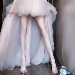 2020年新款夏网红同款一字带高跟鞋女细跟性感水钻防水台凉鞋女潮