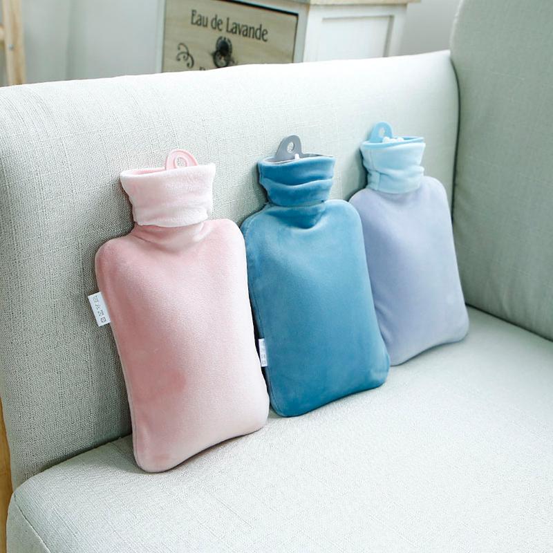 热水袋注水大小号小型随身迷你学生便携式暖水袋女暖敷肚子暖手袋