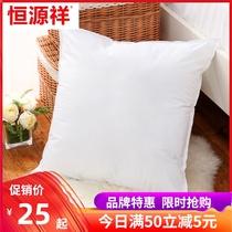恒源祥纯棉抱枕芯40 45 50 55 60 65靠背正方形靠枕沙发靠垫内胆