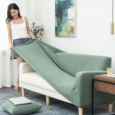 沙发套全包卍能套懒人全盖沙发罩四季通用沙发垫弹力罩布布艺一套