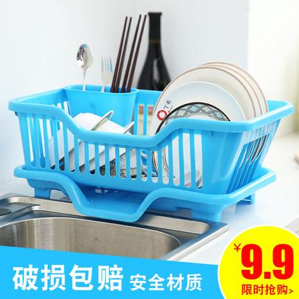 碗架 厨房用品沥水碗架厨房碗盘置物架碟筷子收纳架收纳篮置物架