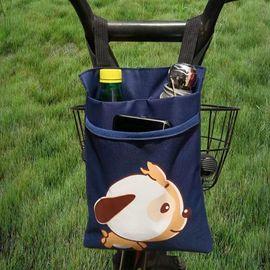 滑板电动车储物收纳袋电瓶车自行车置物小挂包前把兜前置手机袋子