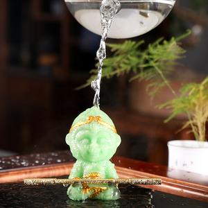 茶台变色摆件孙悟空茶宠精品可养招财齐天大圣猴创意茶盘茶具配件