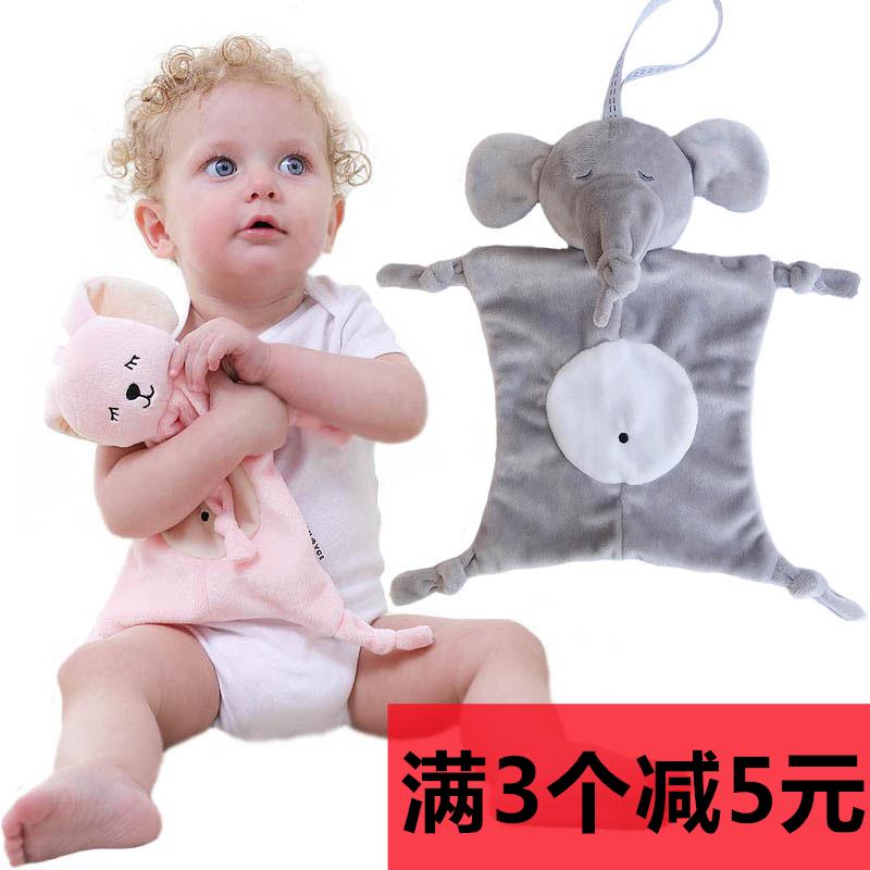 Сша может вводить рот укусить укусить ребенок успокоить полотенце 01-2 лет 12 ребёнок возрастом … месяцев игрушка кролик слон спальный кукла