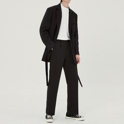 23岁港风痞帅小西装男韩版潮流英伦风  套装男士西服格子休闲外套